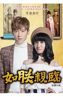 如朕親臨電視劇改編小說封面